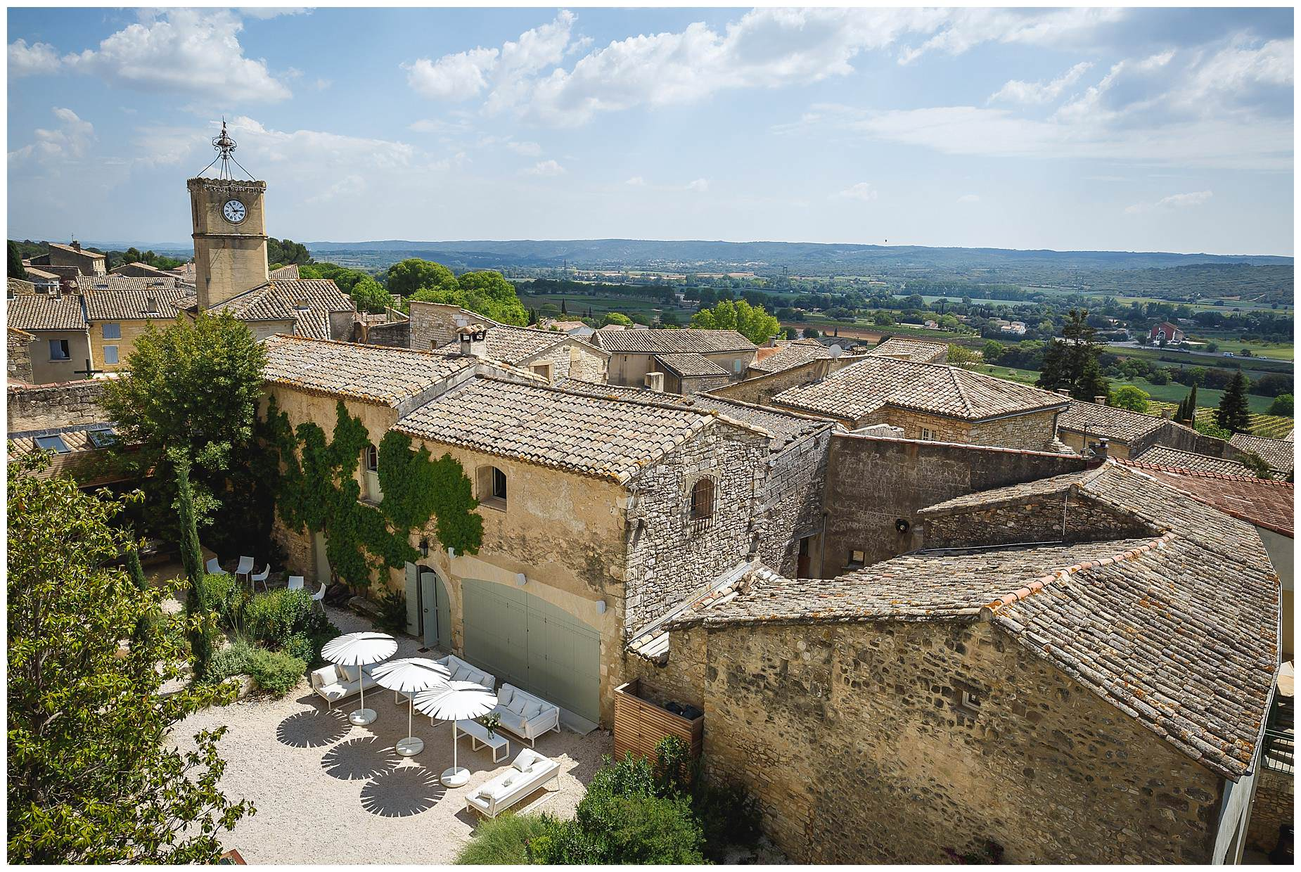 Chateau Provence near Uzes