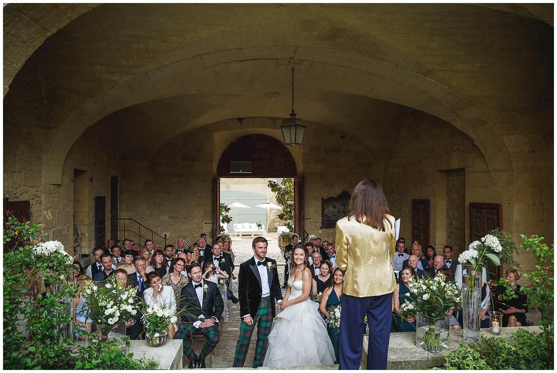 chateau provence real wedding