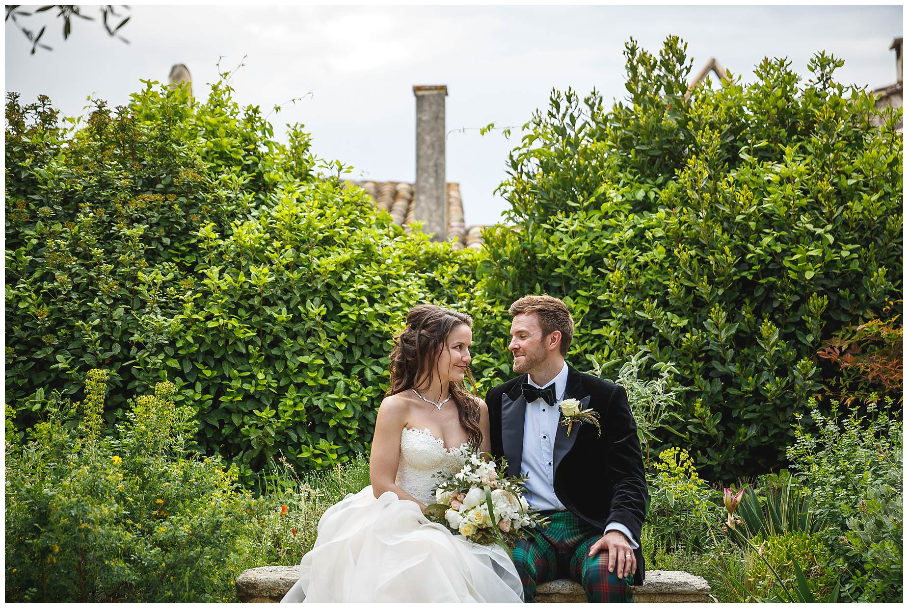 chateau provence wedding uzes