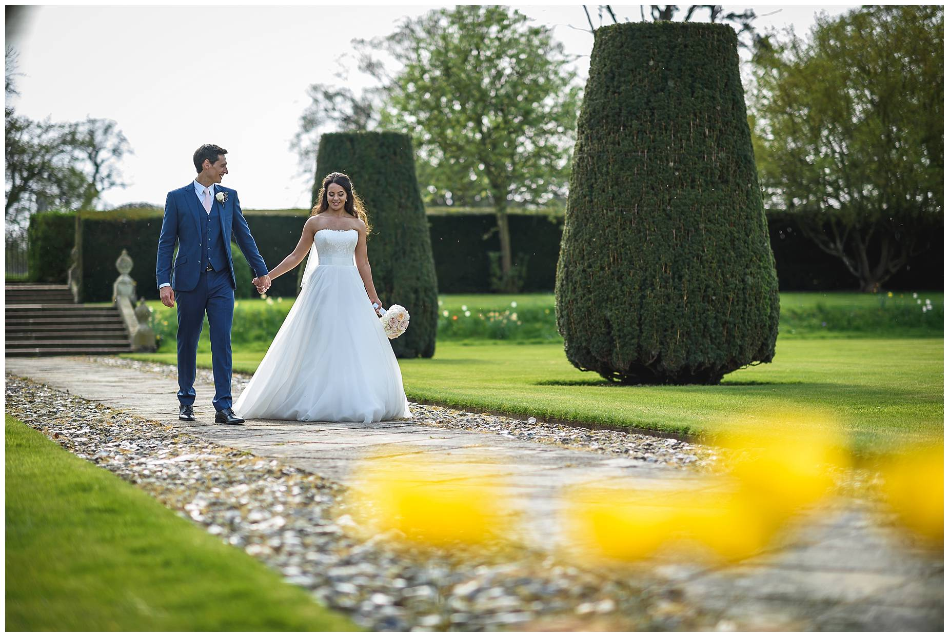 Wedding Hengrave Hall photos