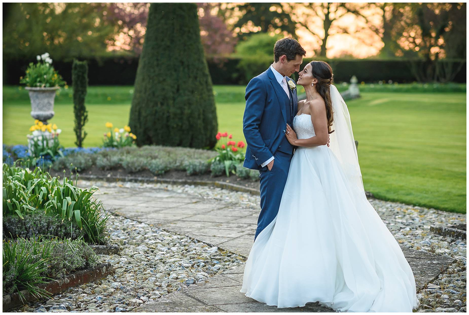 Hengrave Hall real wedding