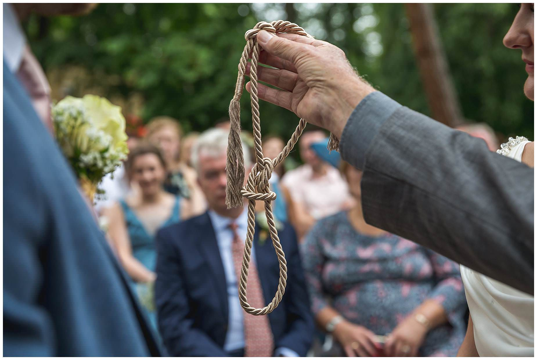 The ceremony rope