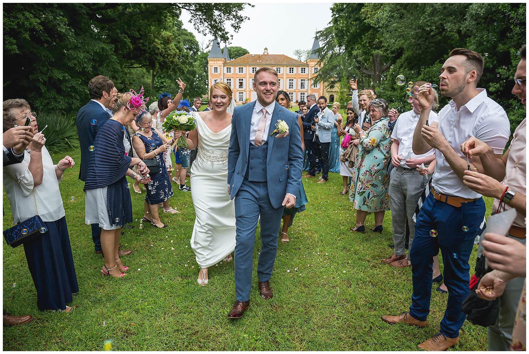Chateau Roquelune Wedding Photographer