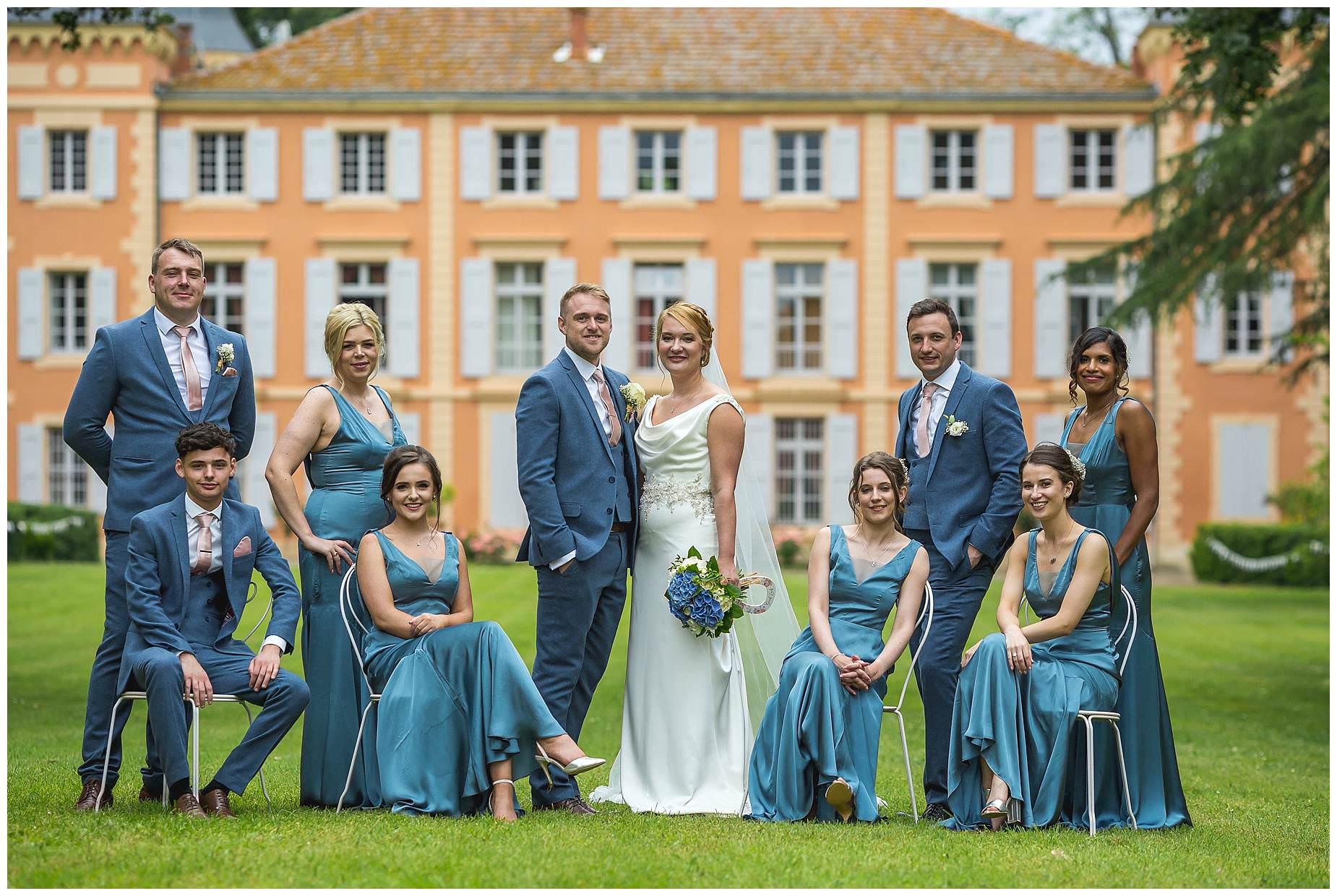 wedding photos Chateau Roquelune Wedding