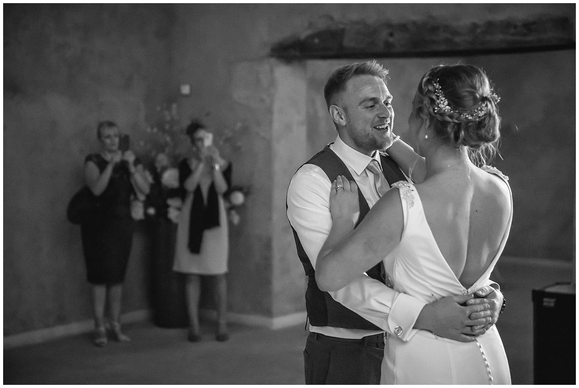 first dance Chateau Roquelune Wedding