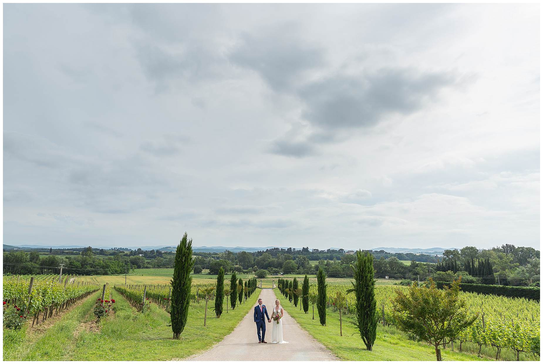 domaine gayda wedding photography
