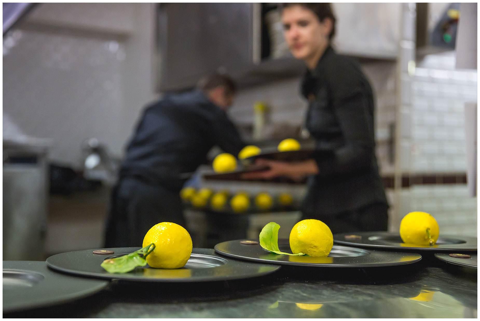 dessert lemons