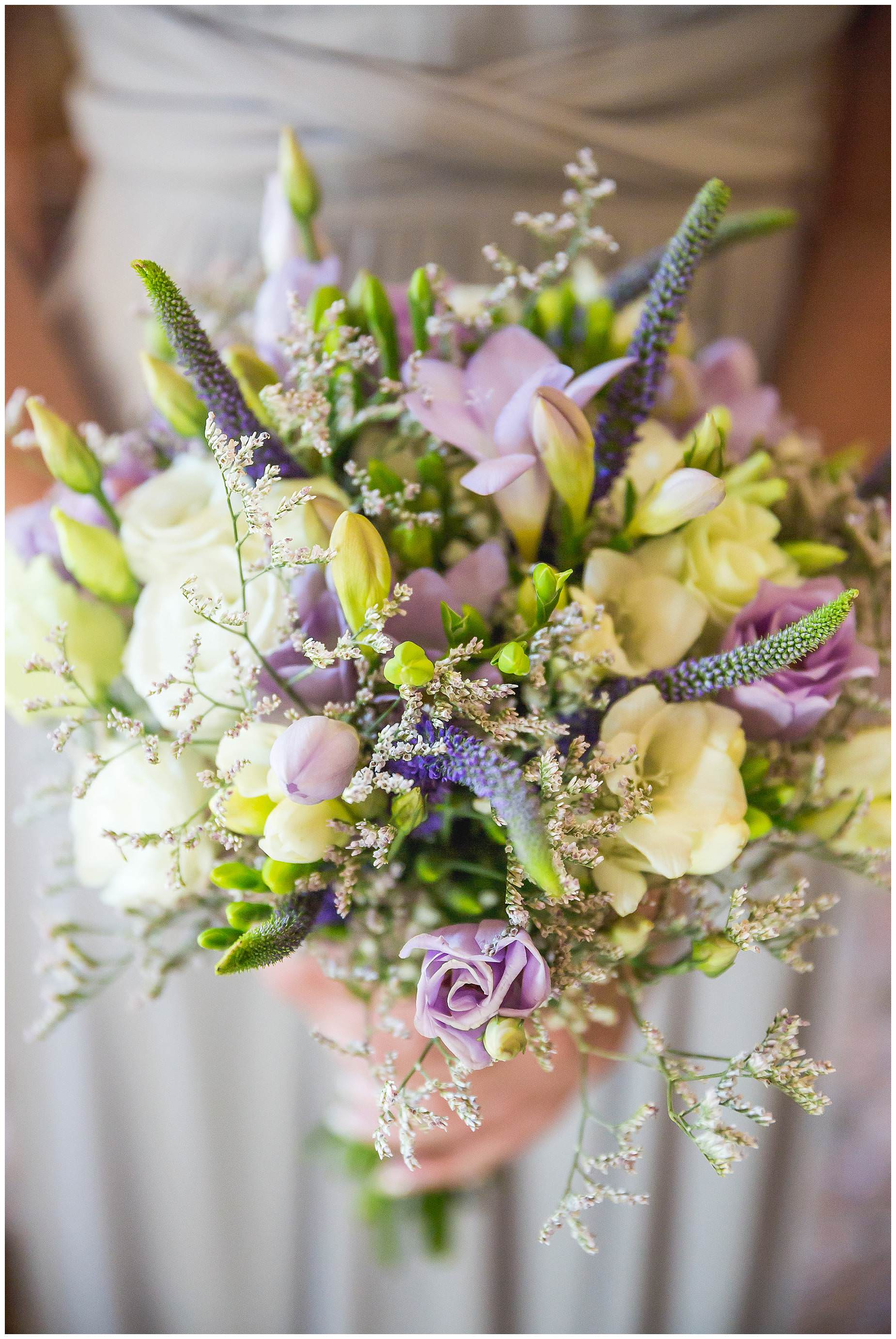 Bridal bouquet south of france wedding