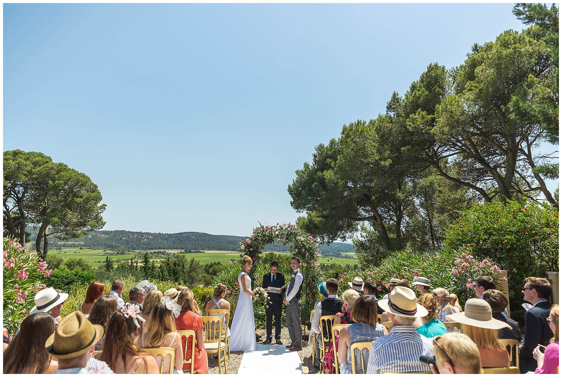 outdoor ceremony carcasonne