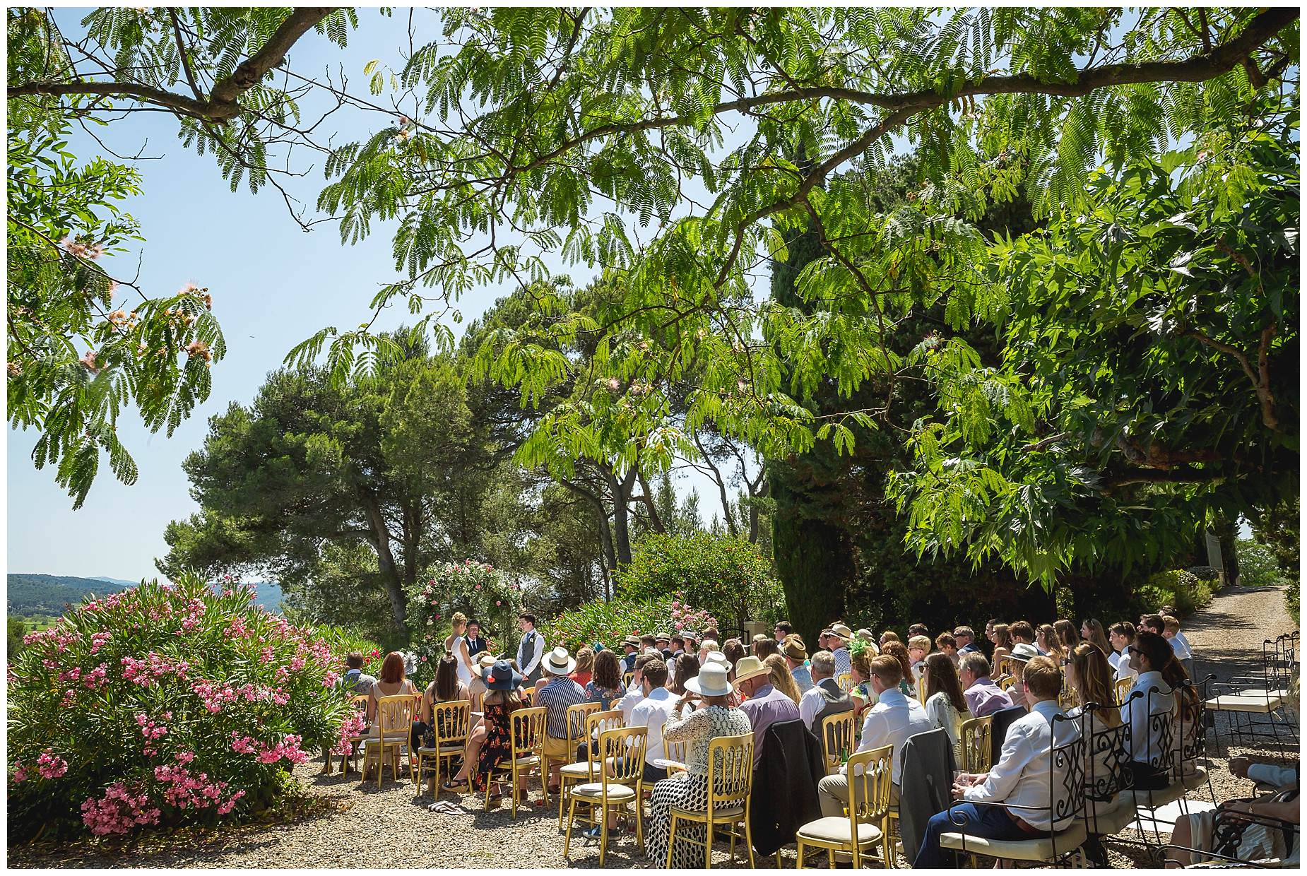 Villa Rouge Le Cremade wedding