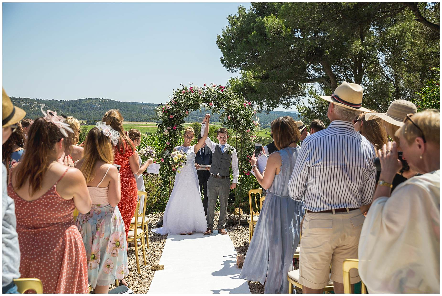 married at villa rouge carcasonne