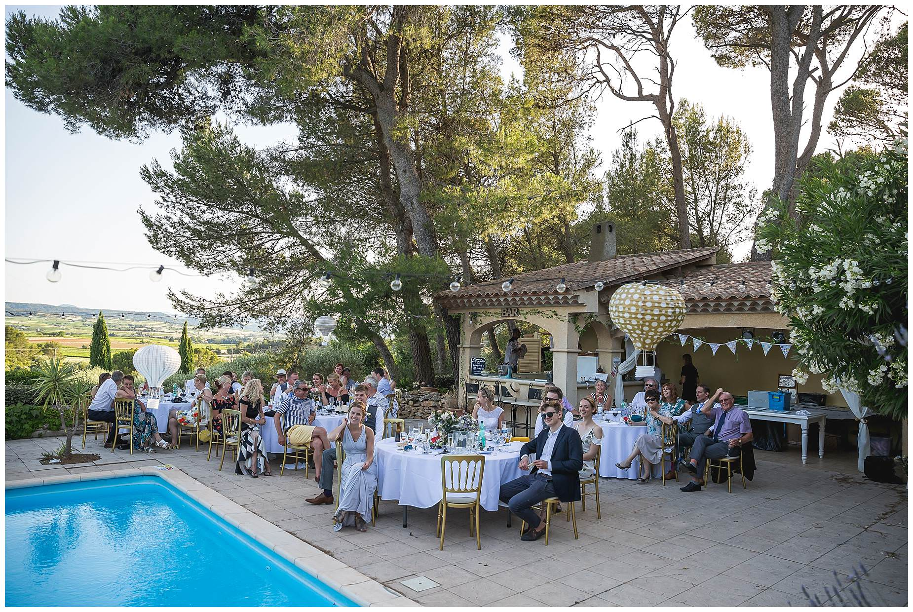 outdoor wedding villa rouge