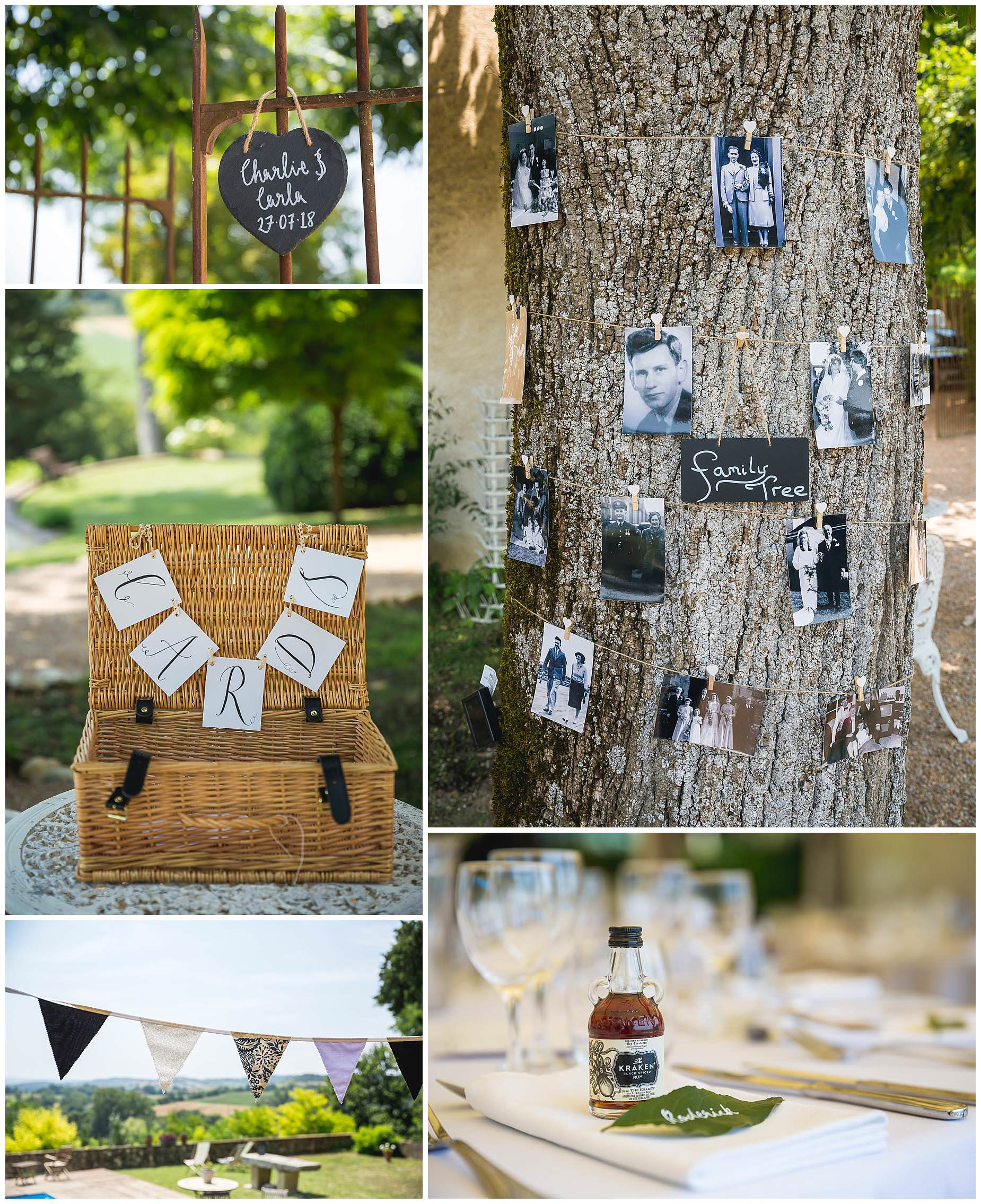 Family tree wedding