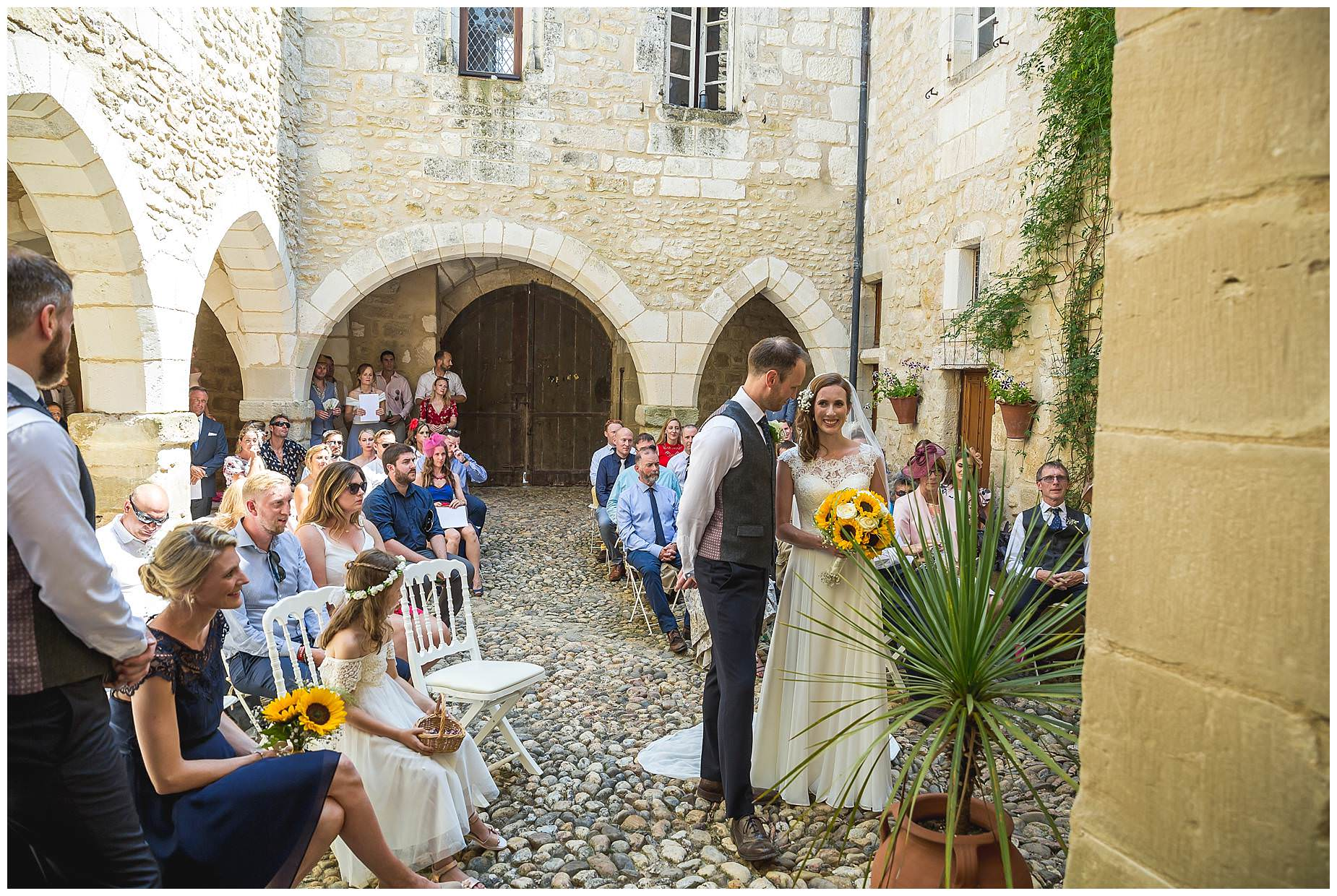 weddings at chateau brametourte
