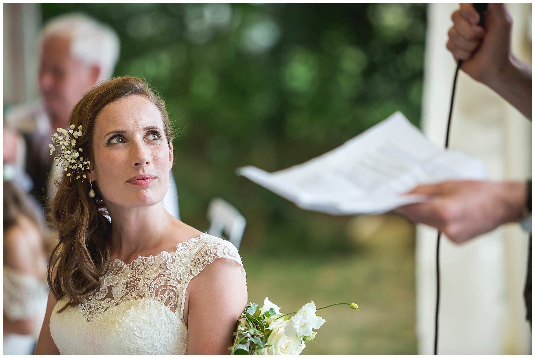 speeches at Chateau Brametourte wedding