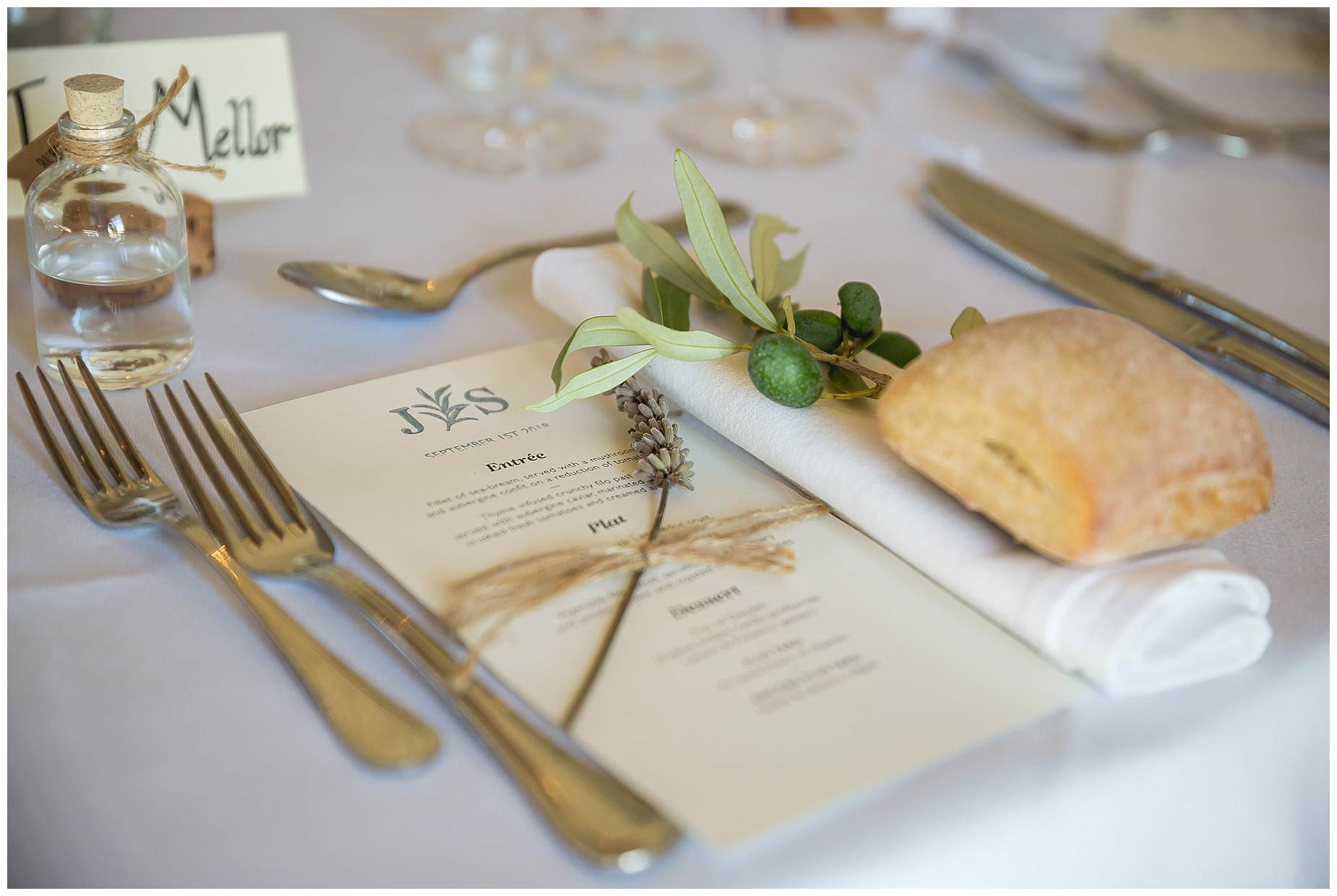 Domaine Saint Germaine table hire