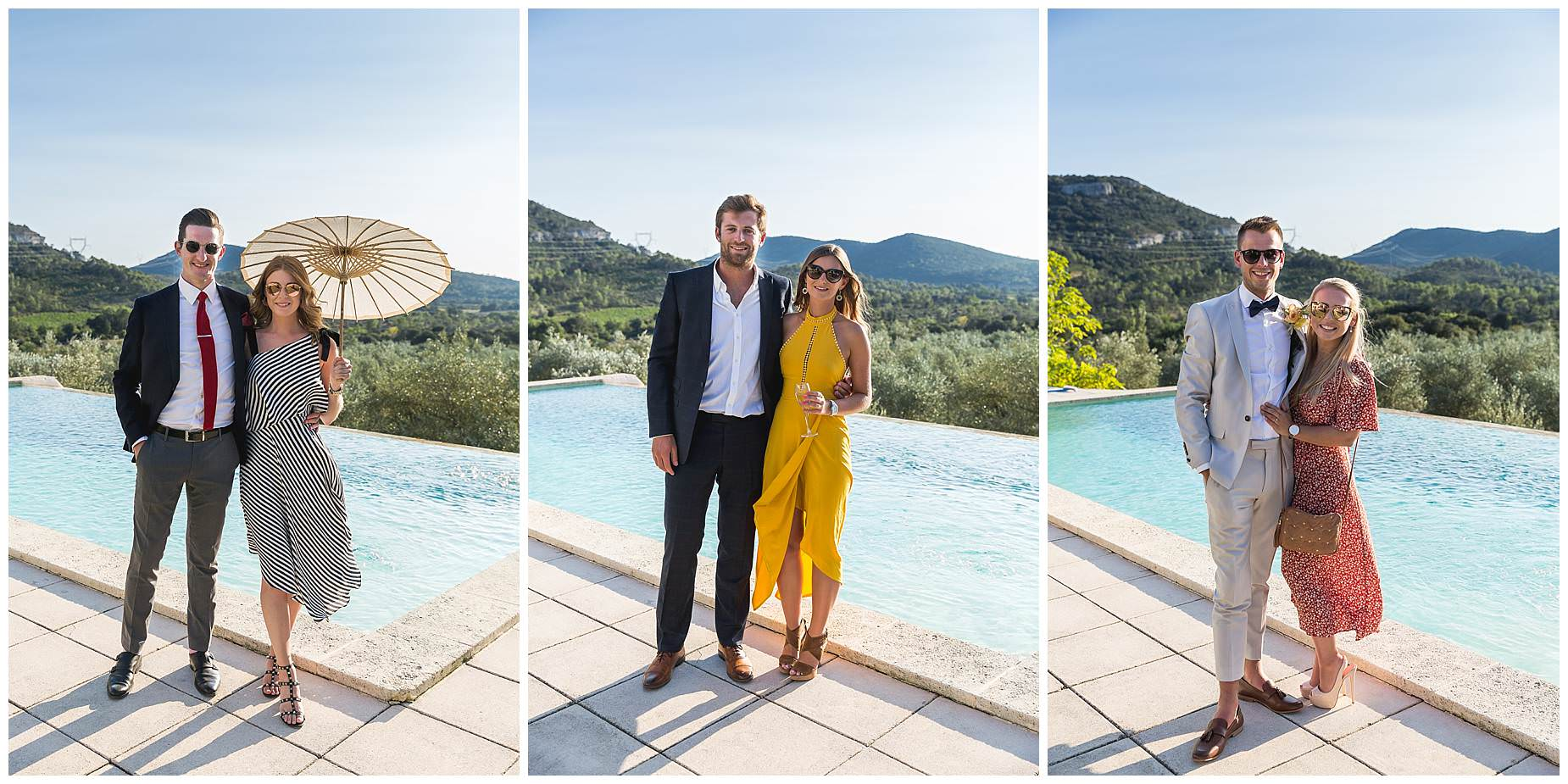 stylish wedding south of france