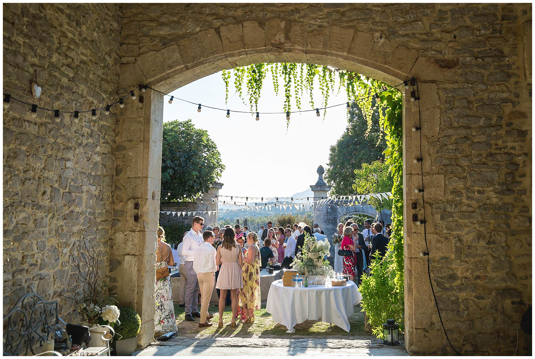 Domaine Saint Germain wedding reception