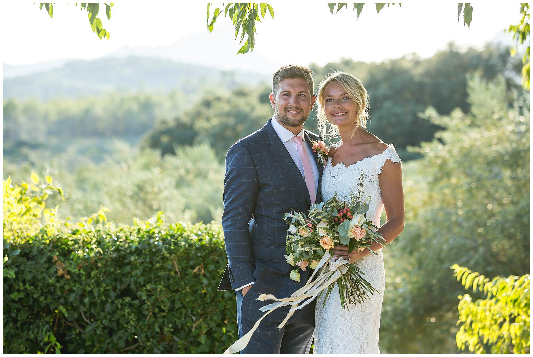 wedding pictures at Domaine Saint Germain France