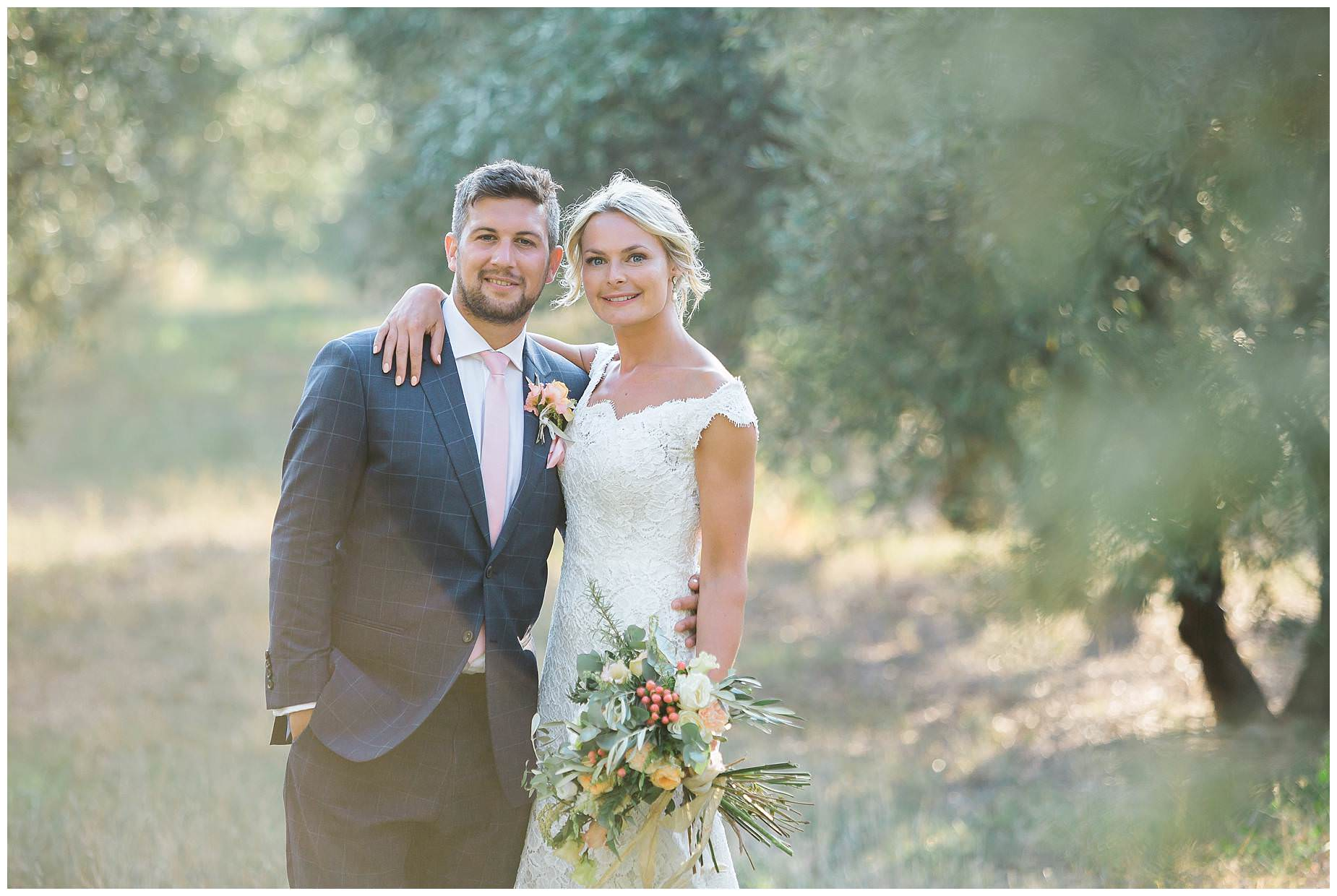 Domaine Saint Germain wedding
