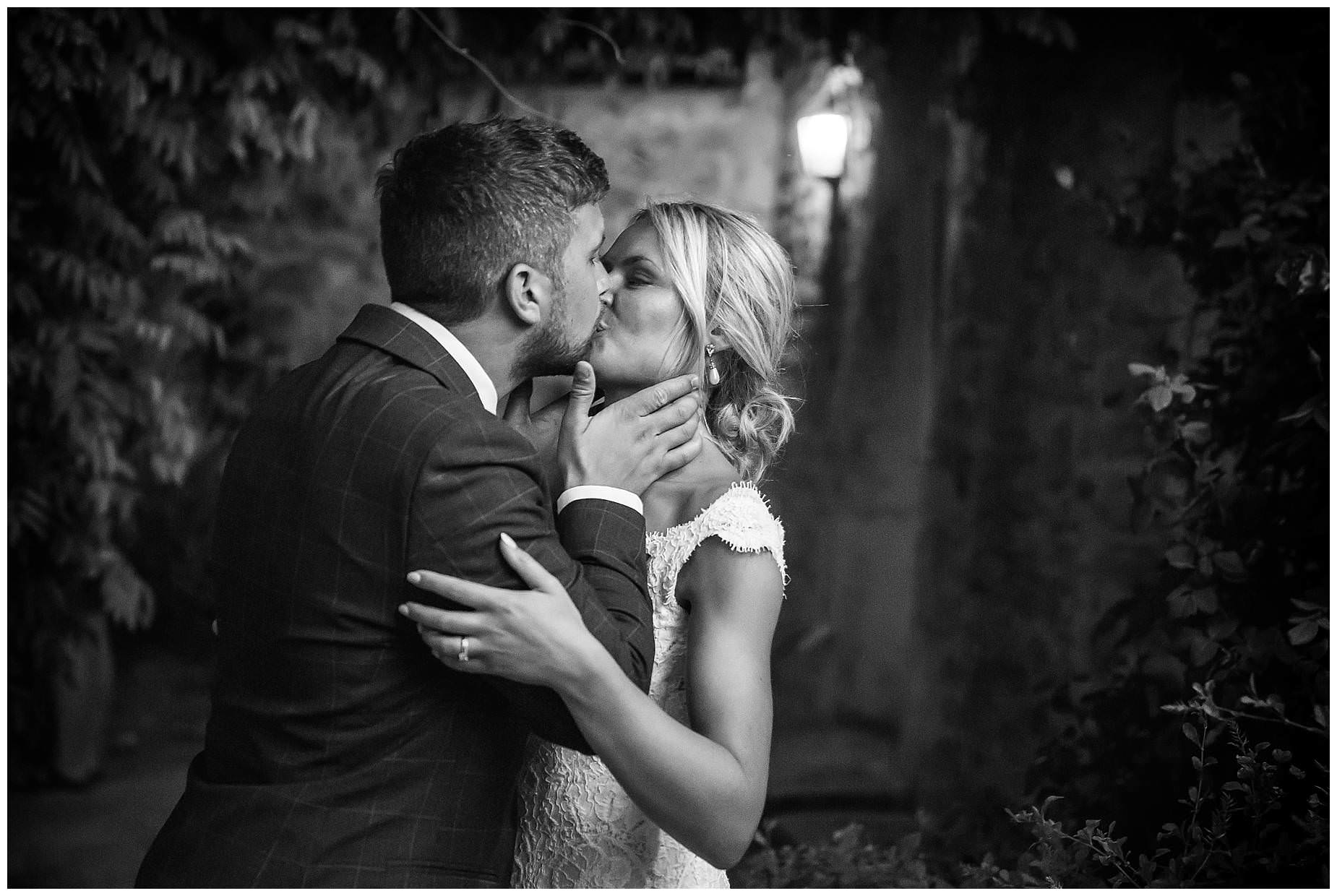 last kiss at domaine saint germain wedding
