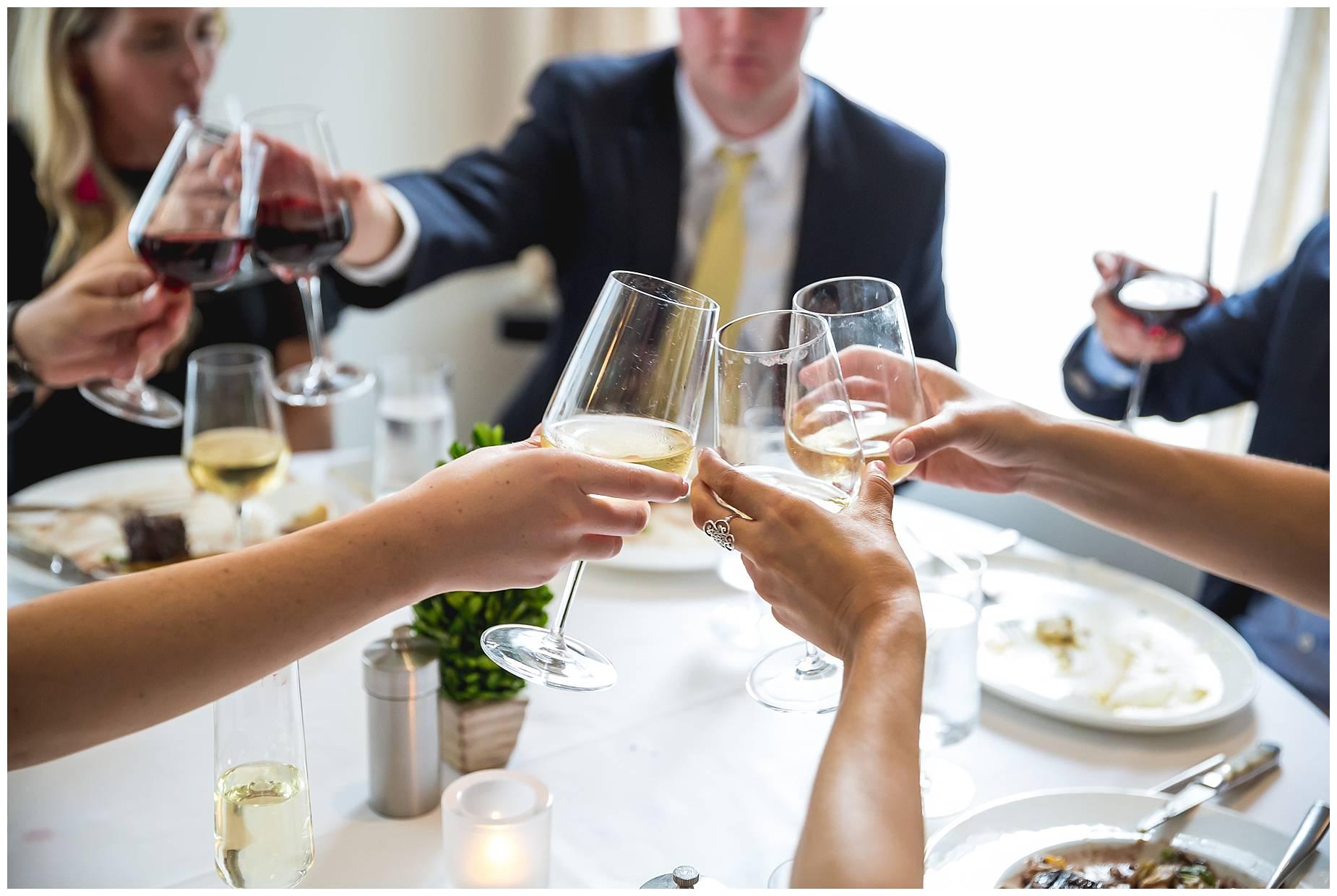 wine toasting boston