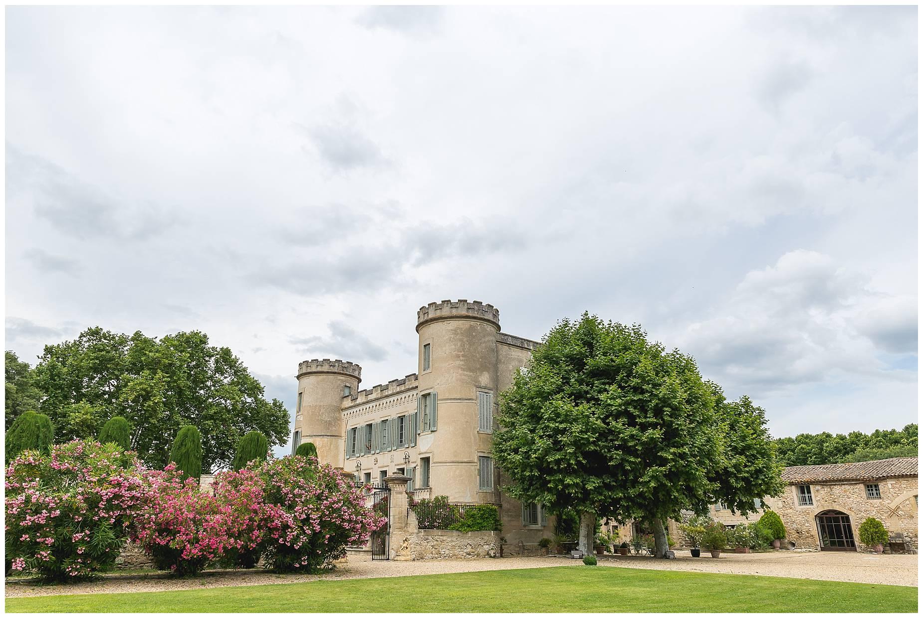 Chateau de Pouget Weddng Photographer