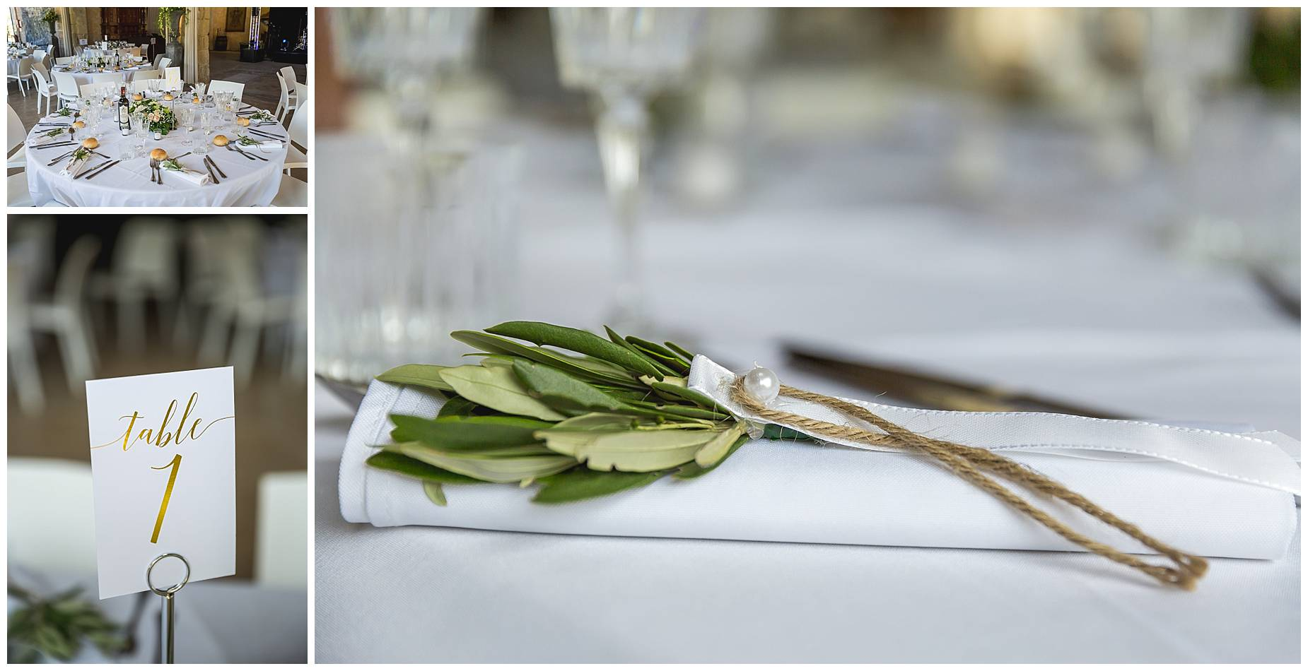 olive place settings