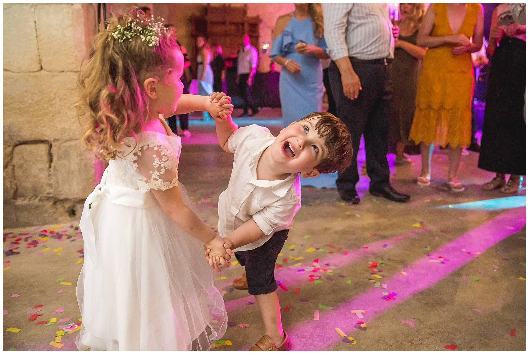 more kids dancing