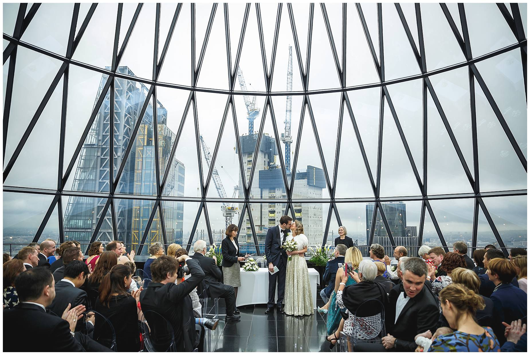 Gherkin Wedding Photos