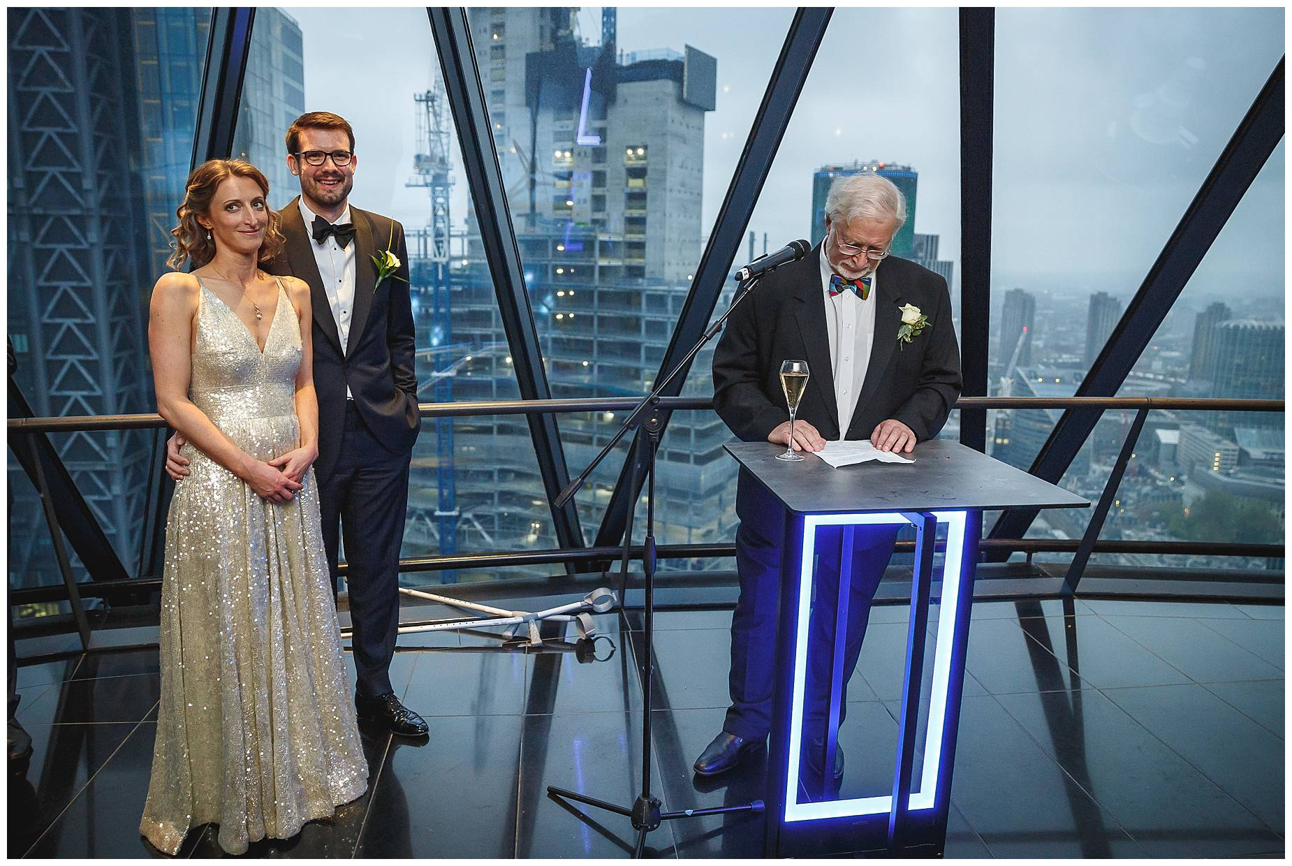 Dads speech at The Gherkin