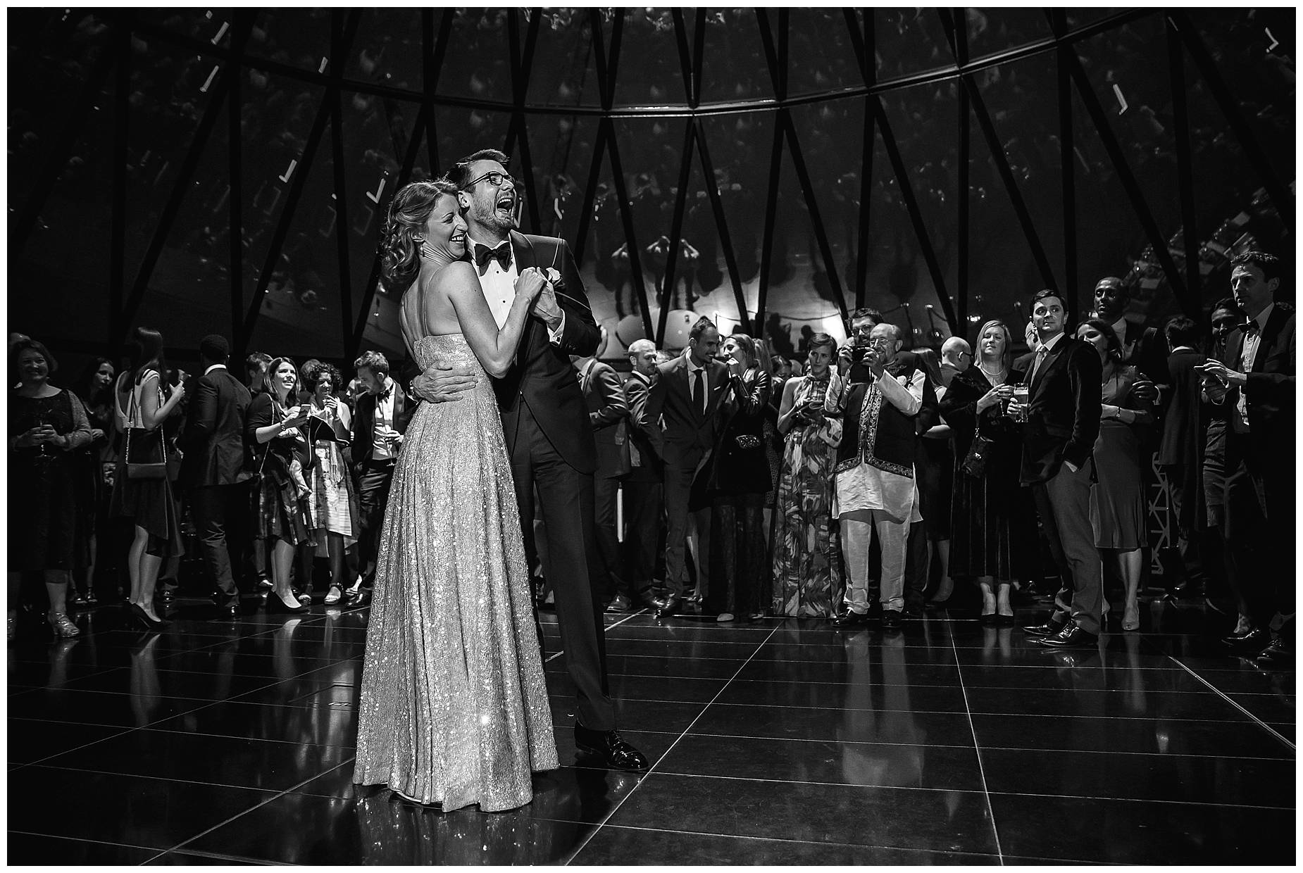 First dance at The Gherkin