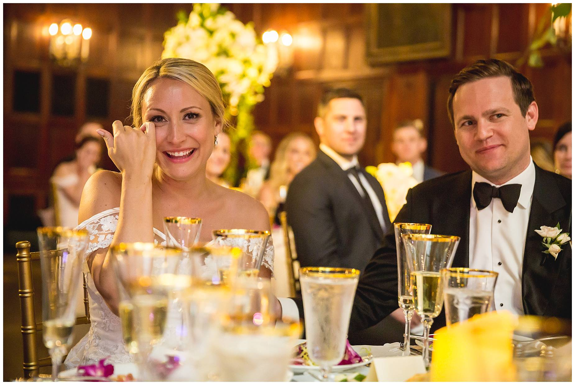 Harvard Club Wedding speeches