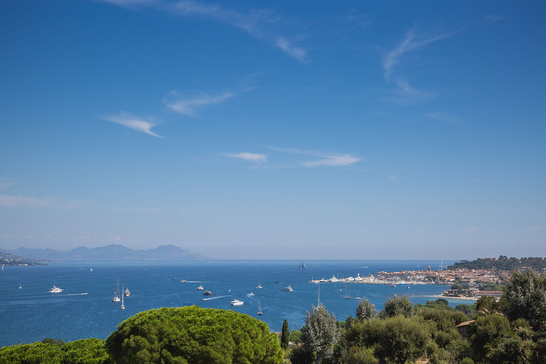 Saint Tropez bay
