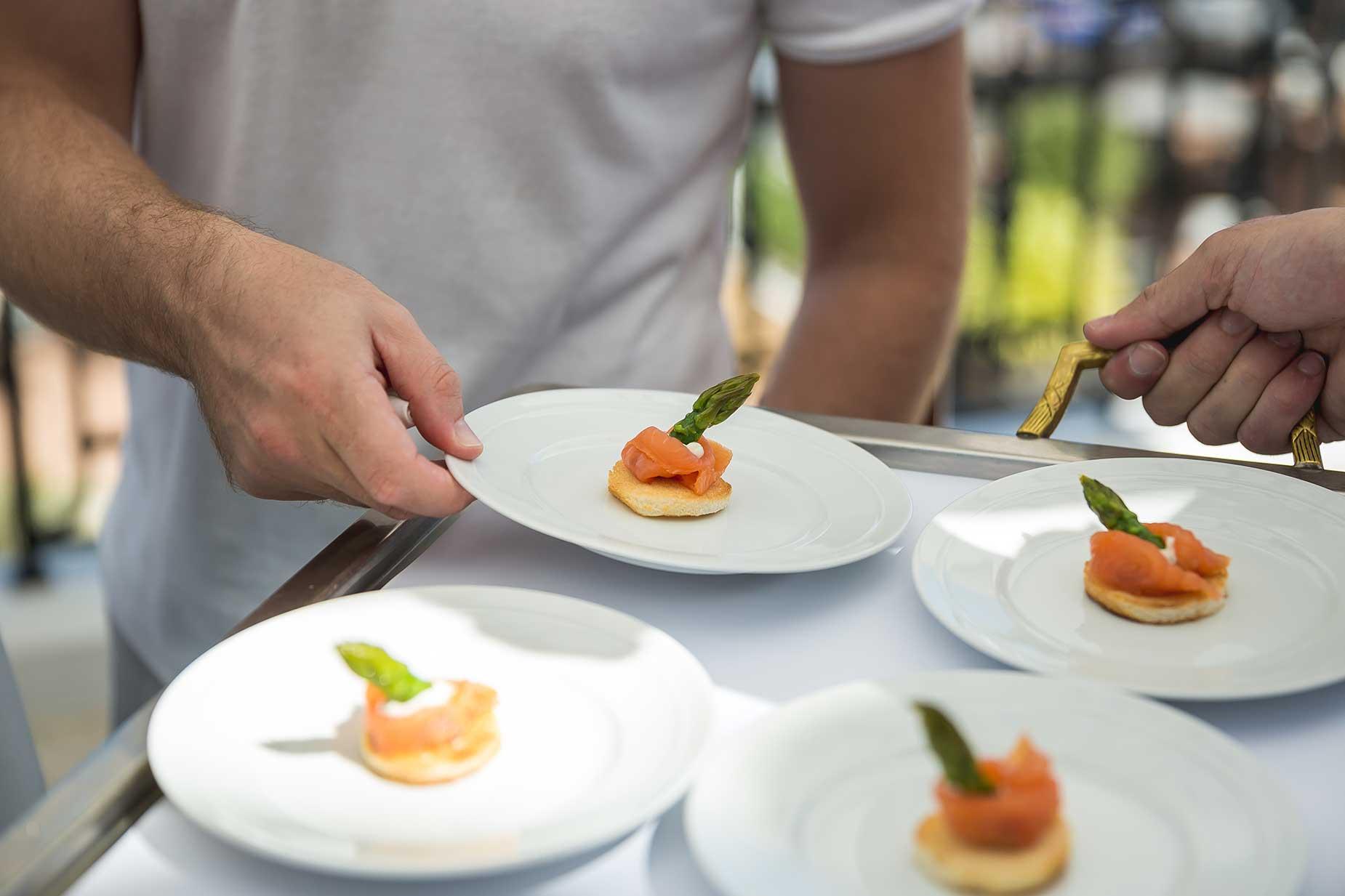 food at Althoff Hotel Villa Belrose