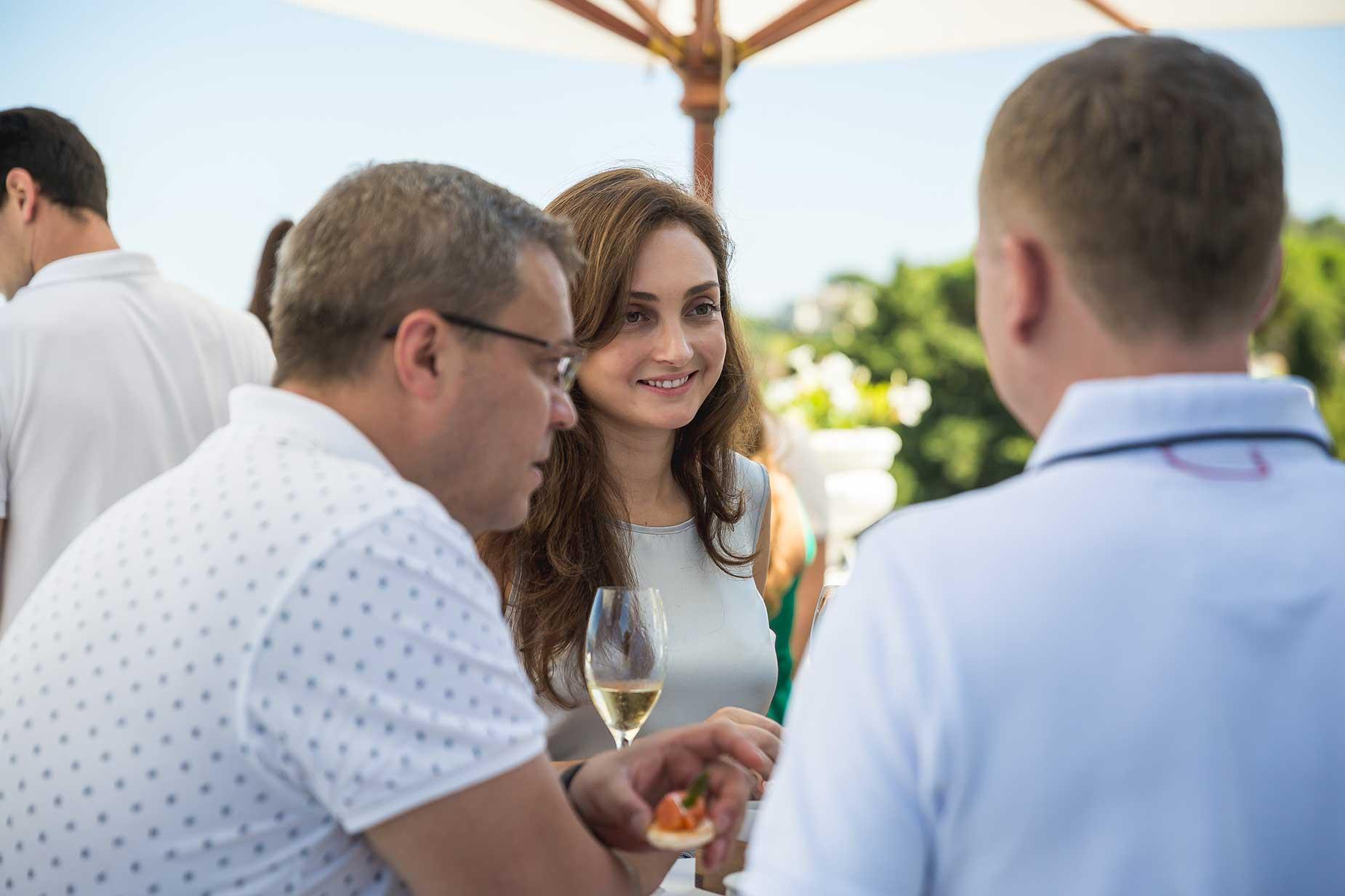 bride at Althoff Hotel Villa Belrose