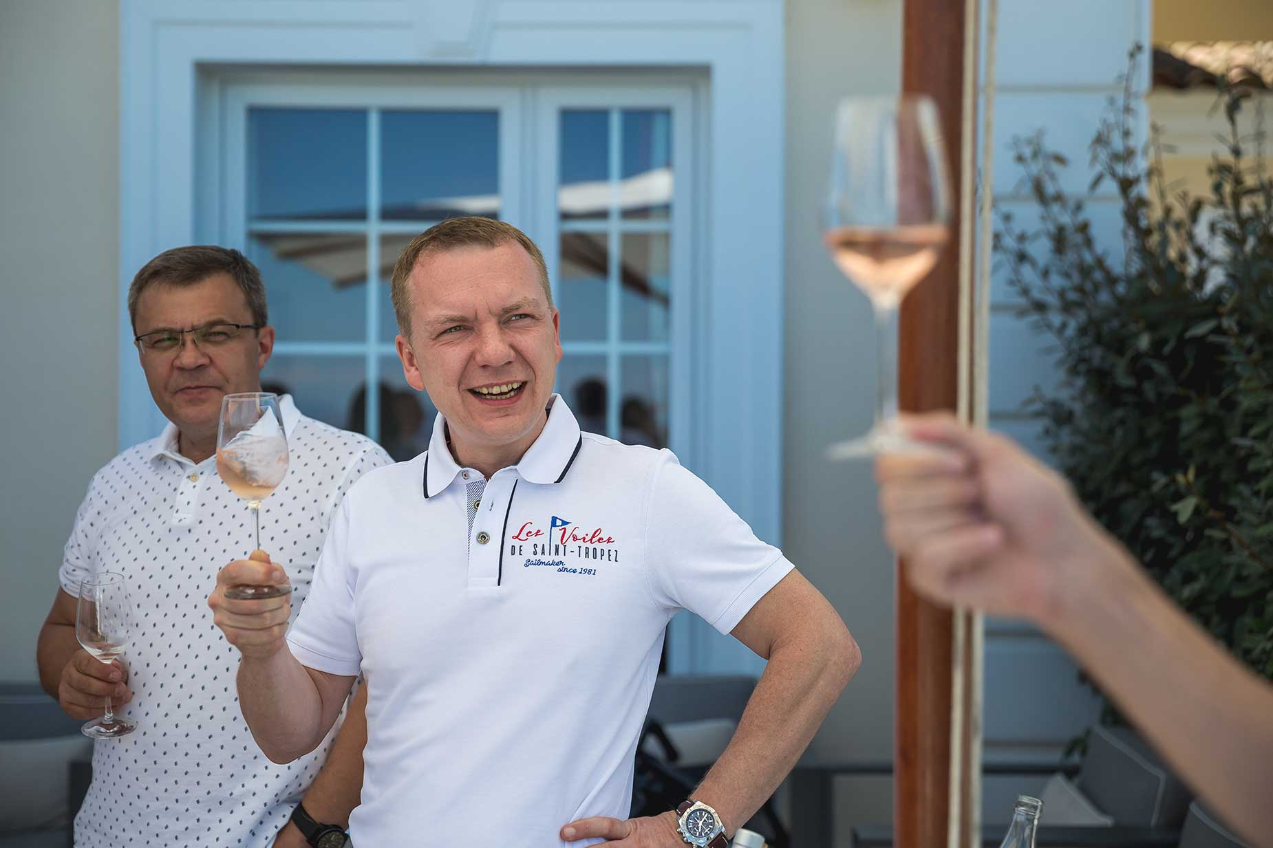wine tasting saint tropez