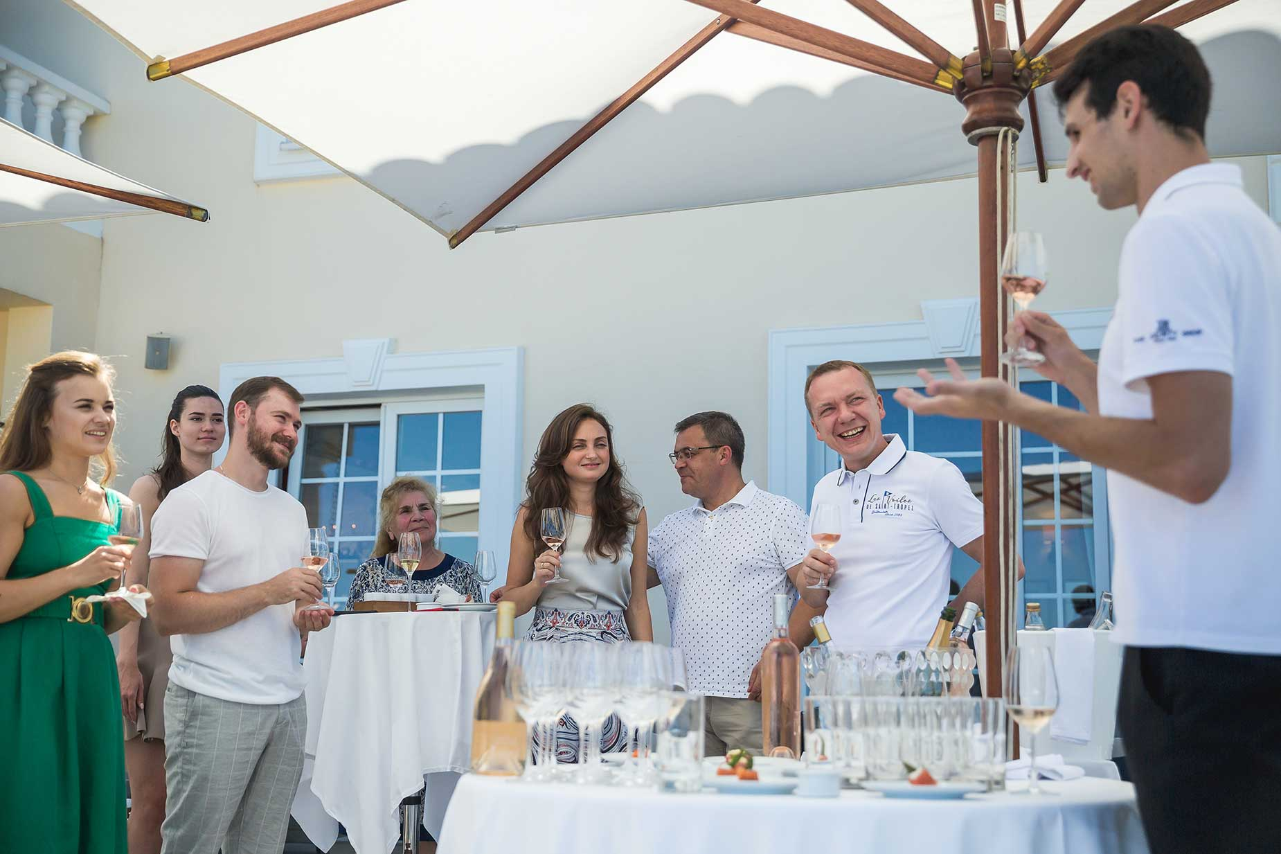 Althoff Hotel Villa Belrose wine tasting