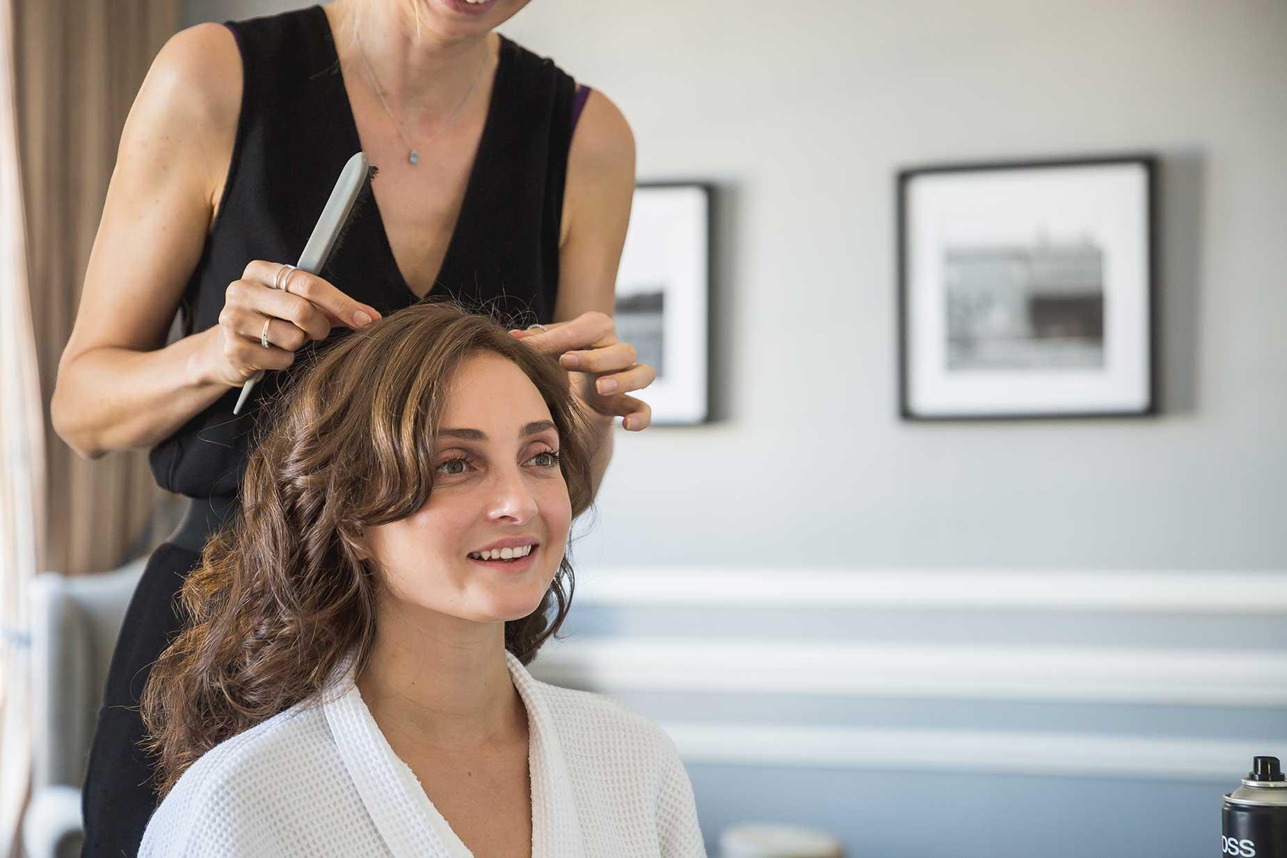hair stylist Saint Tropez