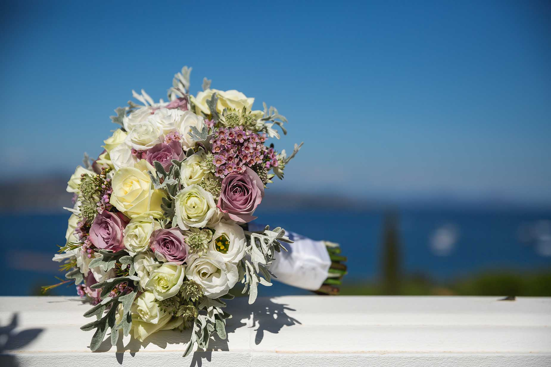 bridal bouquet florist Saint Tropez