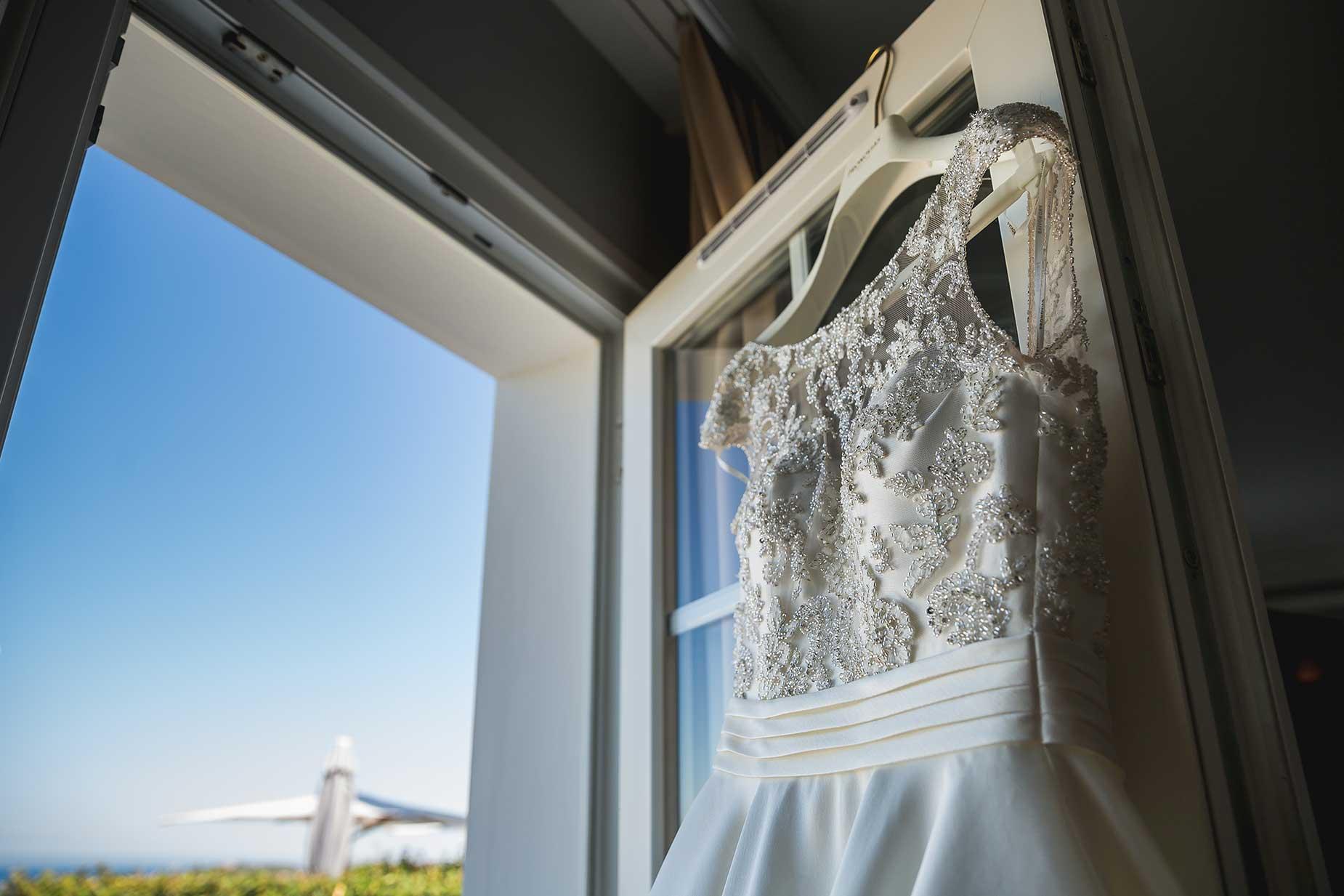 wedding dress saint Tropez