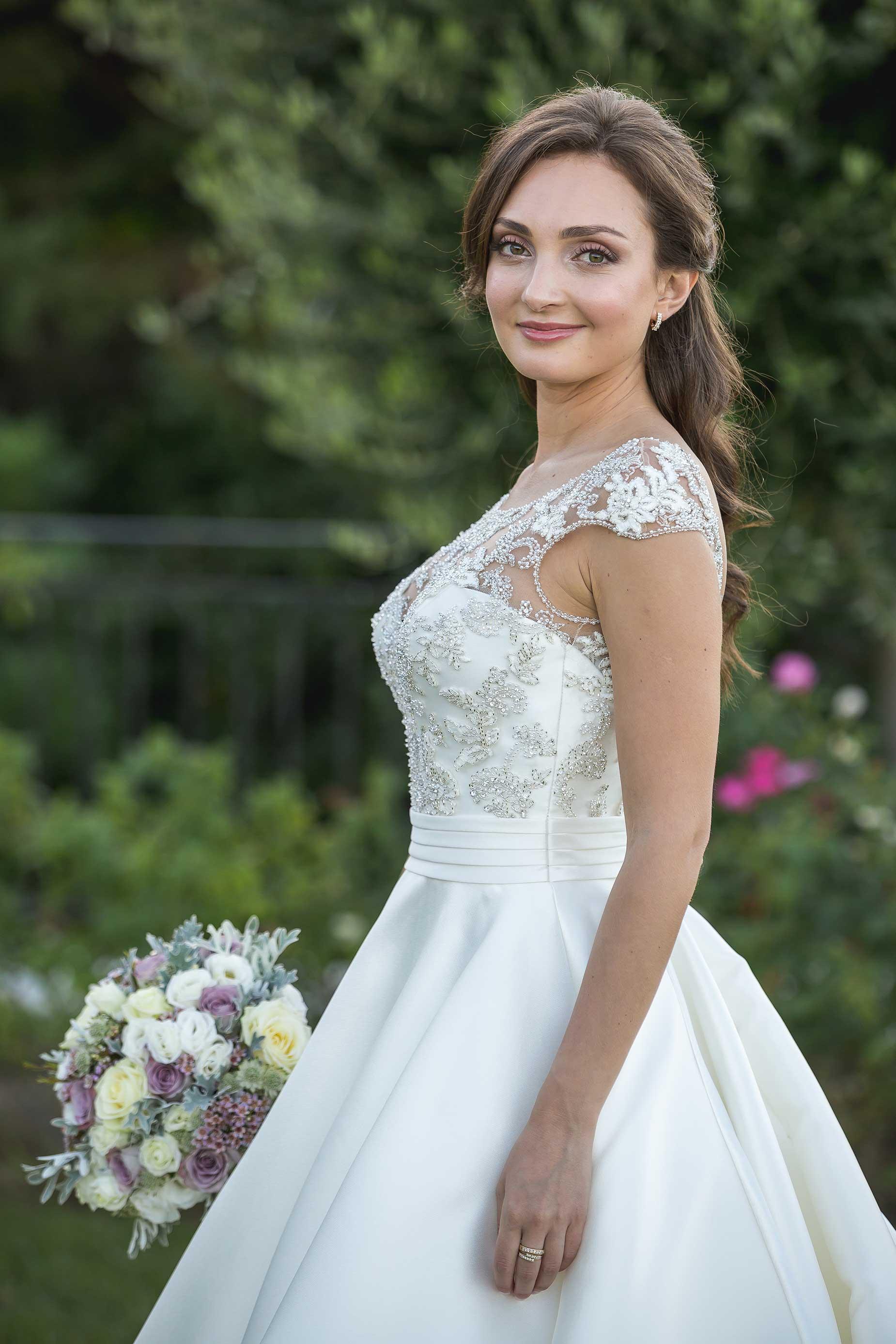 bride in saint tropez