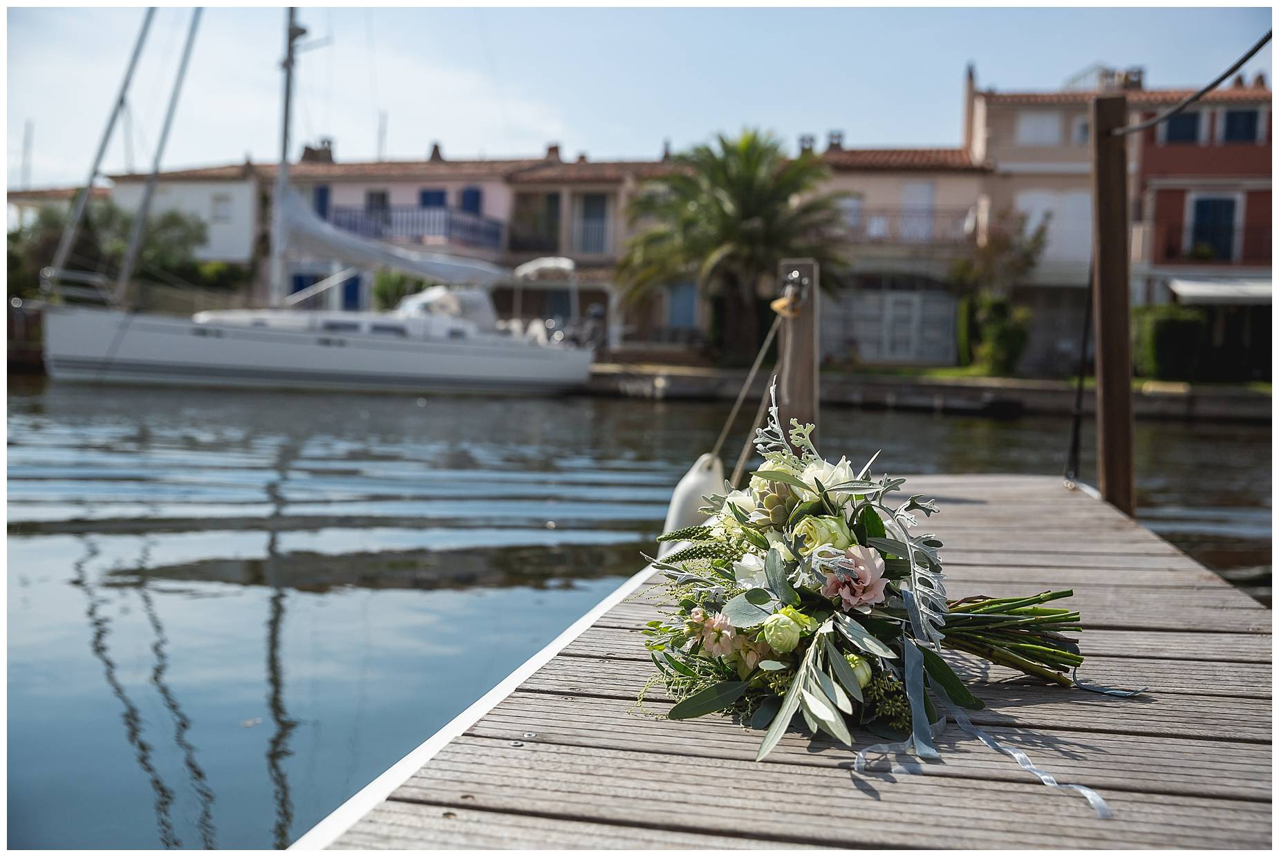 Port Grimaud Wedding florist