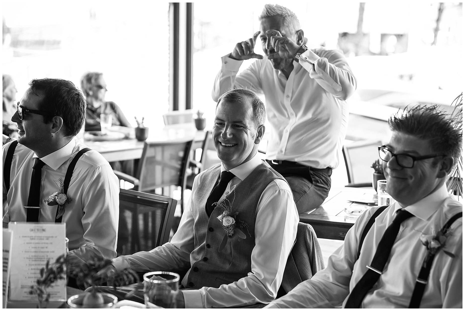 Port Grimaud Wedding groom