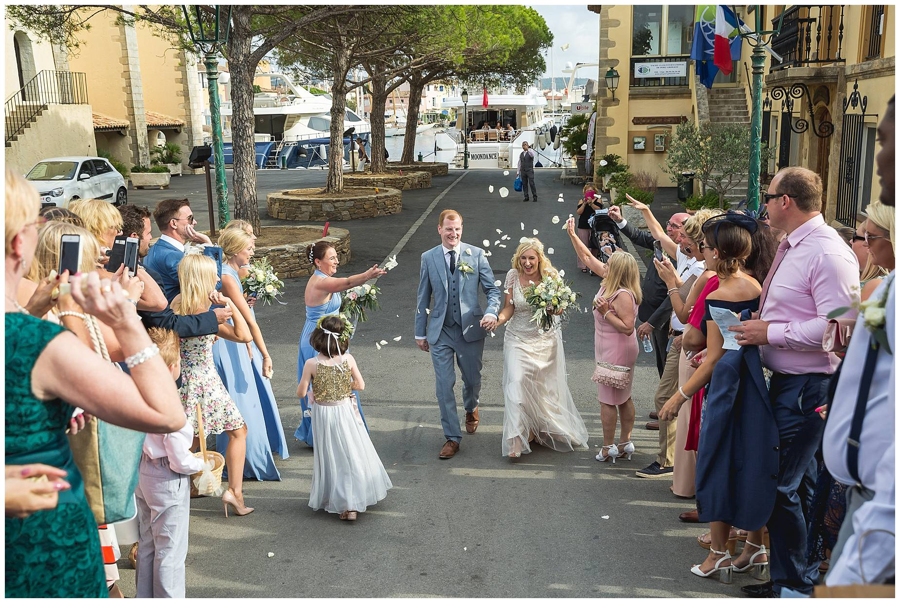 Port Grimaud Wedding confetti