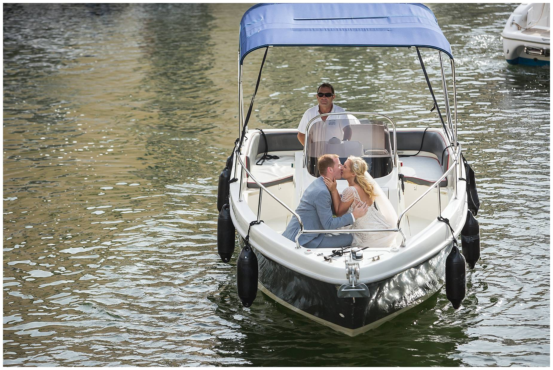 Port Grimaud Wedding boat hire