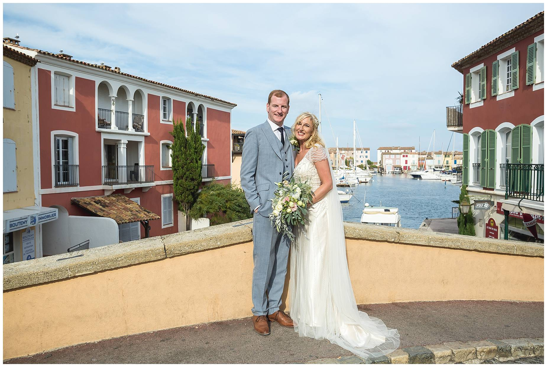 Port Grimaud Wedding pictures