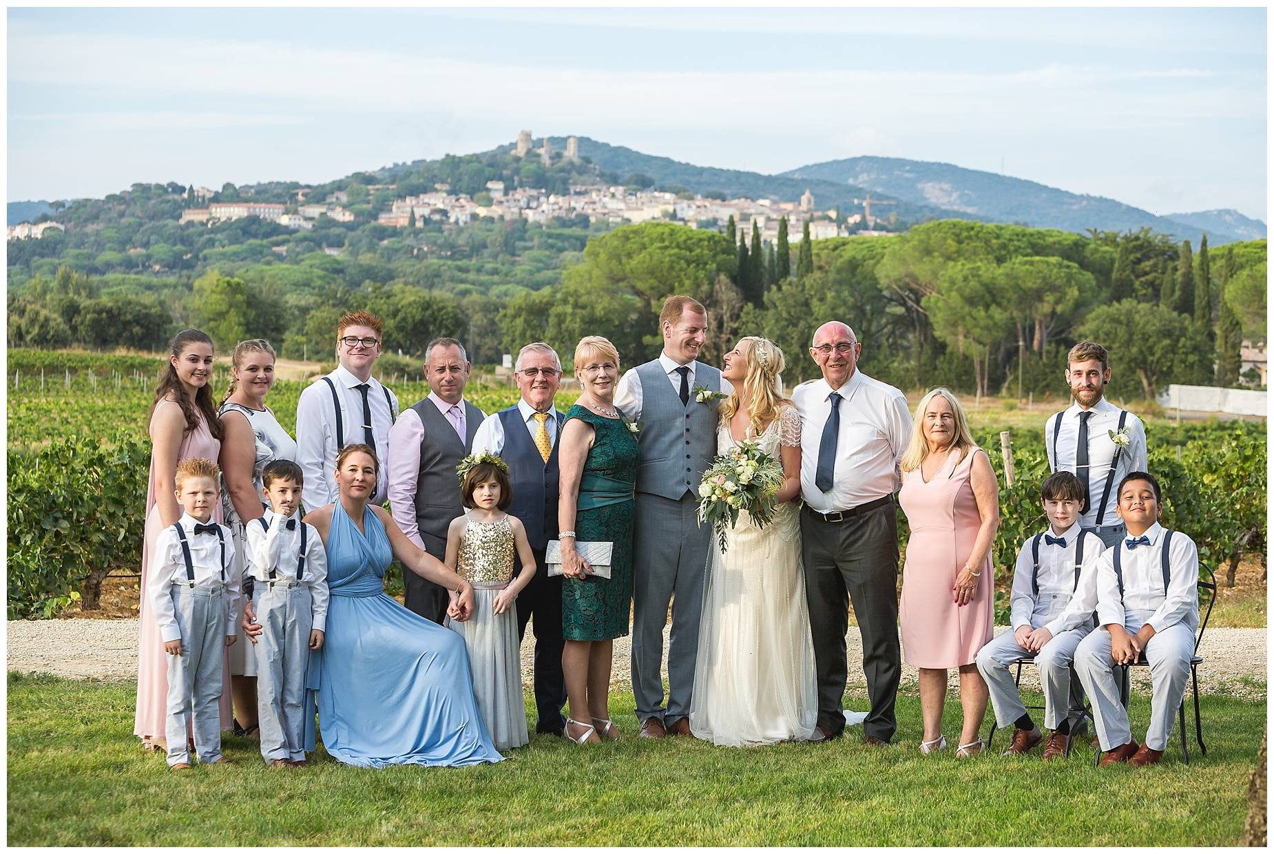 Chateau Saint Maur Wedding photos
