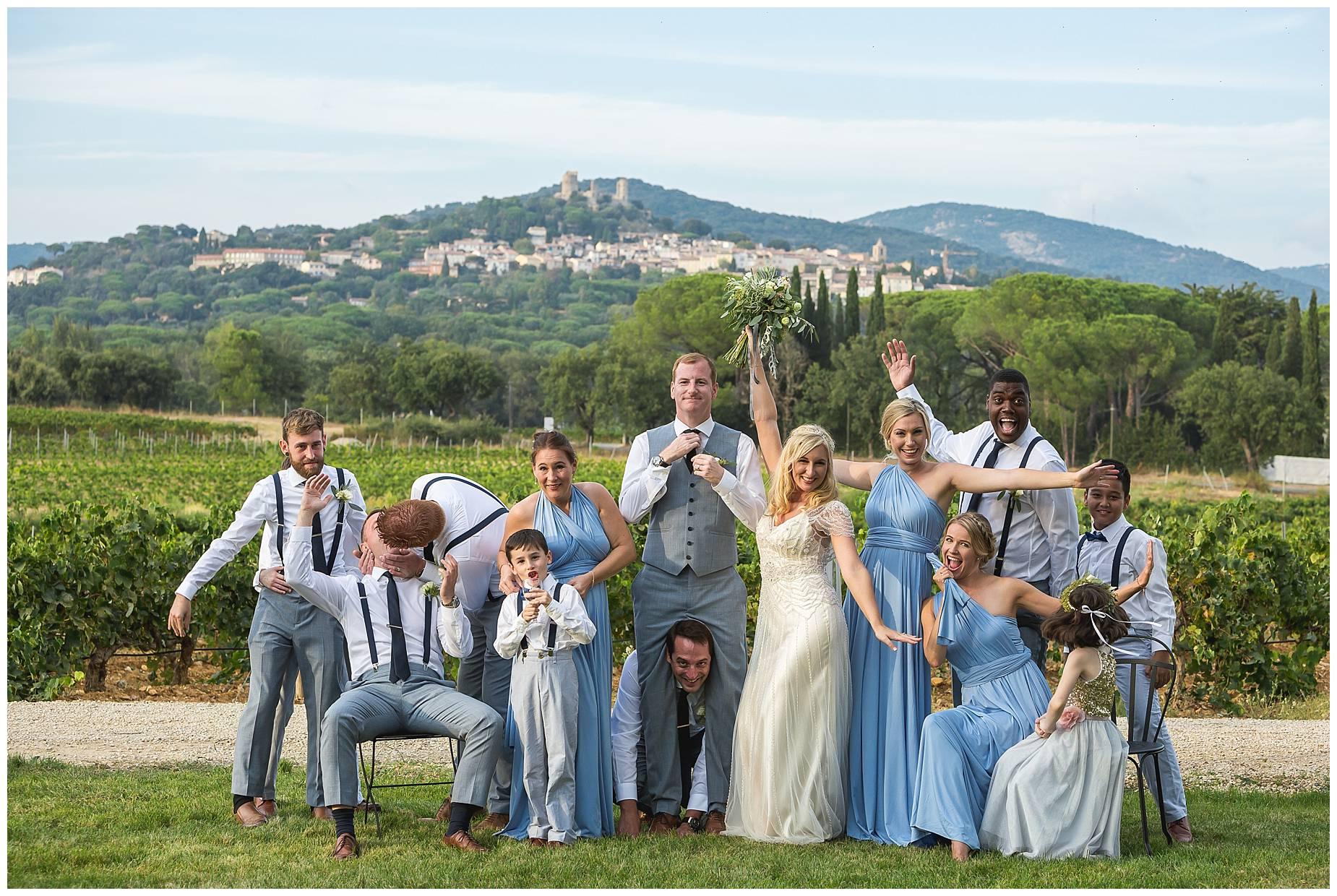 Chateau Saint Maur wedding photographer