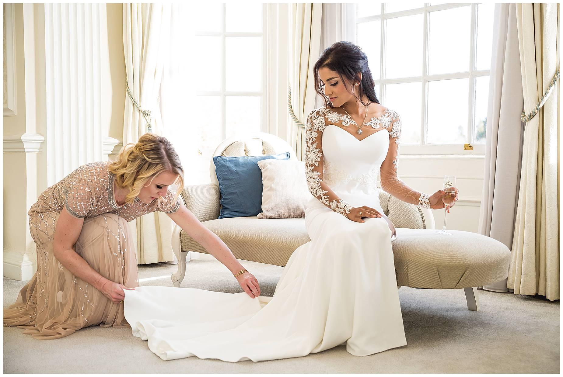 bridesmaid tweaks dress